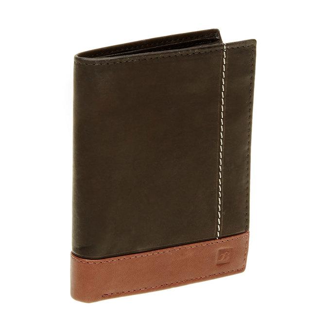Herren-Geldbörse aus Leder bata, Schwarz, 944-6150 - 13