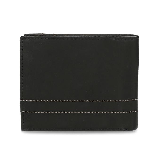 Herren-Geldbörse aus Leder bata, Braun, 944-6147 - 16