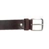 Brauner Gürtel aus Leder, Braun, 954-3106 - 26