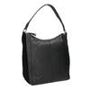 Schwarze Hobo-Bag aus Leder bata, Schwarz, 964-6254 - 13