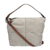 Lederhandtasche im Hobo-Stil bata, Grau, 963-2130 - 19