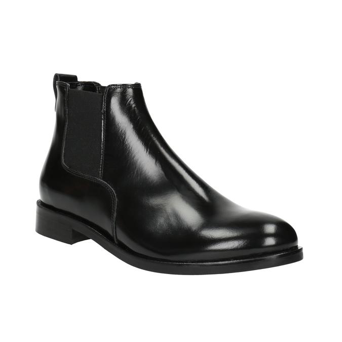 Damen-Chelsea-Boots aus Leder bata, Schwarz, 594-6902 - 13