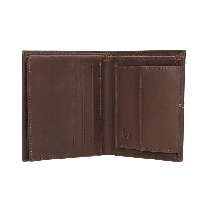 Gesteppte Herren-Geldbörse bata, Braun, 944-3176 - 15