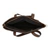 Damenhandtasche mit asymmetrischem Reissverschluss, Braun, 961-3847 - 15