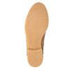 Knöchelschuhe aus Leder mit wärmender Fütterung bata, Braun, 596-3610 - 26