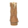 Knöchelschuhe aus Leder mit wärmender Fütterung bata, Braun, 596-3610 - 17