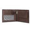 Herren-Geldbörse aus Leder bata, Braun, 944-4171 - 15