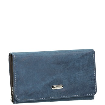 Blaue Damen-Geldbörse, Blau, 941-9153 - 13