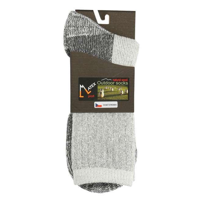Outdoor-Herrensocken matex, Grau, 919-2316 - 13