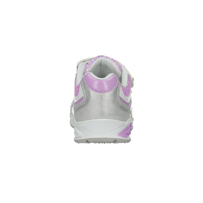 Mädchen-Sneakers mit Glitter mini-b, Grau, 221-2603 - 17