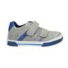 Kinder Leder-Sneakers mit Klettverschluss mini-b, Grau, 214-2600 - 15
