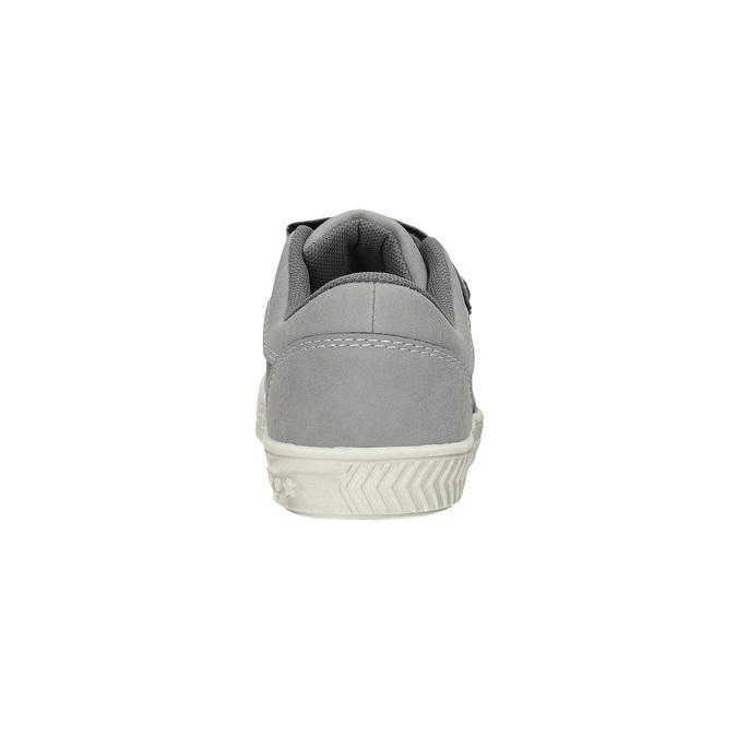 Kinder-Sneakers mit Klettverschluss mini-b, Grau, 411-2604 - 17