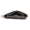Crossbody-Handtasche mit perforierter Klappe bata, Grau, 961-2709 - 15