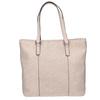 Rosa Handtasche mit perforiertem Detail bata, Rosa, 961-5711 - 26