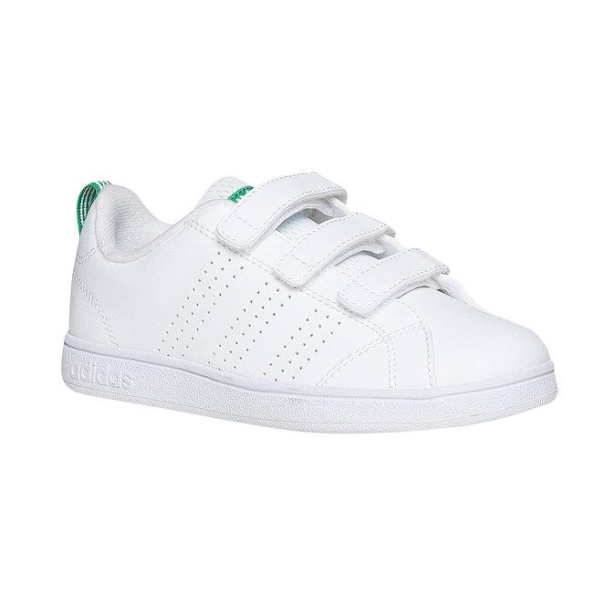Weiße Kinder-Sneakers mit Klettverschluss adidas, Weiss, 301-1168 - 13
