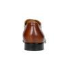 Braune Lederhalbschuhe im Oxford-Stil bata, Braun, 826-3819 - 17