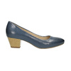 Pumps mit stabilem Absatz pillow-padding, Blau, 626-9637 - 15