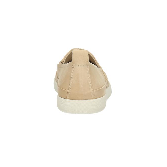 Leichte Damen-Slippers bata, Beige, 516-8601 - 17