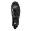 Herren-Loafers aus Leder bata, Schwarz, 814-6621 - 19