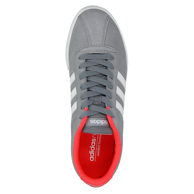 Graue Damen-Sneakers adidas, Grau, 503-2976 - 19