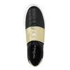 Schwarze Sneakers mit goldenem Streifen north-star, Schwarz, 511-6602 - 19