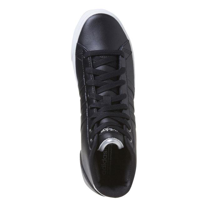 Knöchelhohe Damen-Sneakers adidas, Schwarz, 501-6975 - 19