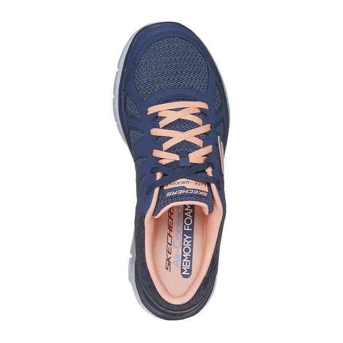 Sportliche Damen-Sneakers skechers, Blau, 509-9963 - 19