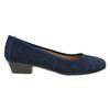 Lederpumps der Weite H bata, Blau, 623-9601 - 15