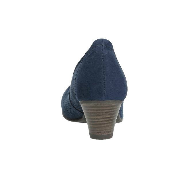Lederpumps der Weite H bata, Blau, 623-9602 - 17