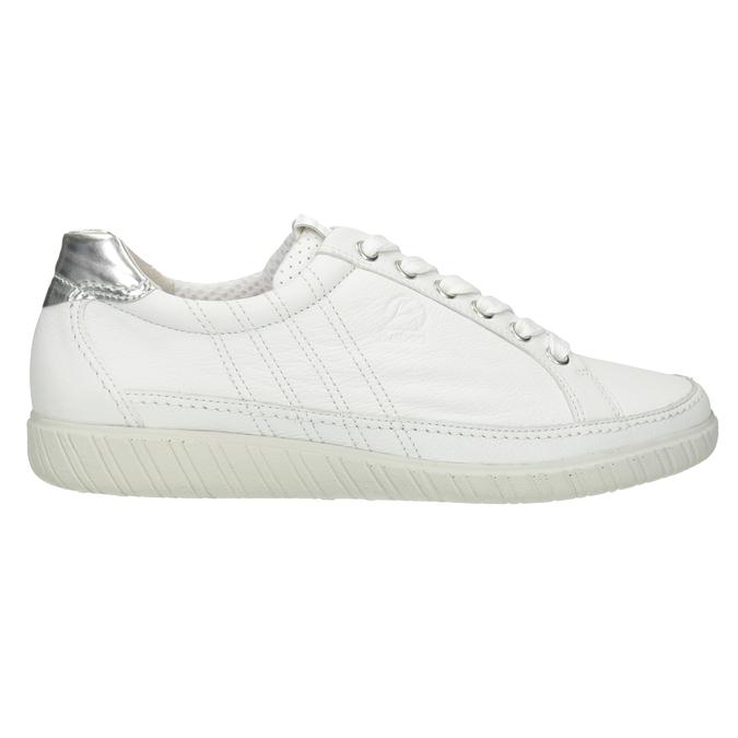 Weisse Sneakers aus Leder gabor, Weiss, 626-1204 - 26