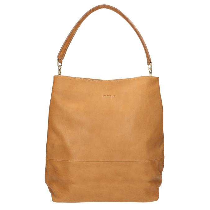 Lederhandtasche mit abnehmbarem Henkel vagabond, Beige, 964-8051 - 19