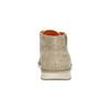Knöchelschuhe aus geschliffenem Leder weinbrenner, Beige, 843-4625 - 17