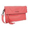 Crossbody-Damenhandtasche aus Leder fredsbruder, Rot, 964-5037 - 13