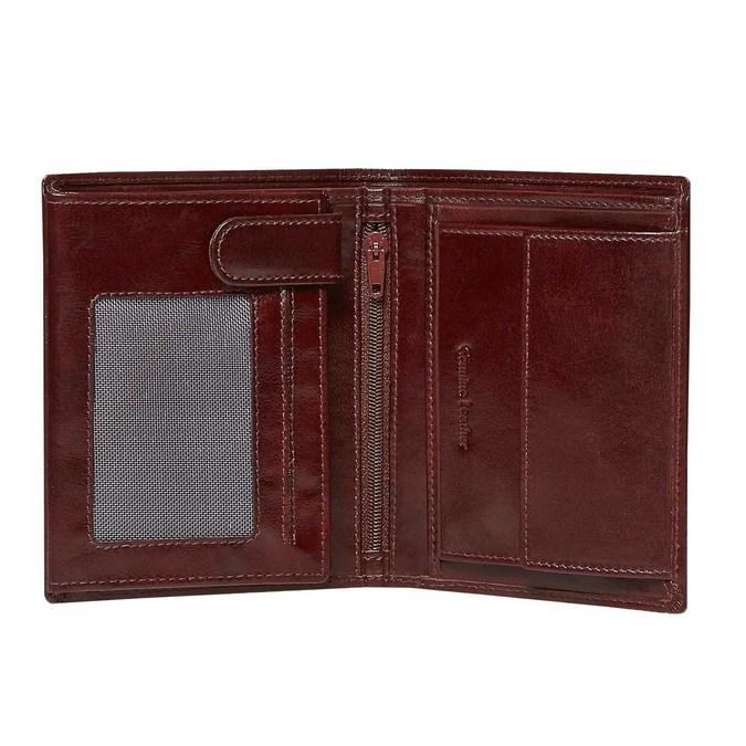 Geldbörse aus Leder bata, Braun, 944-4121 - 19