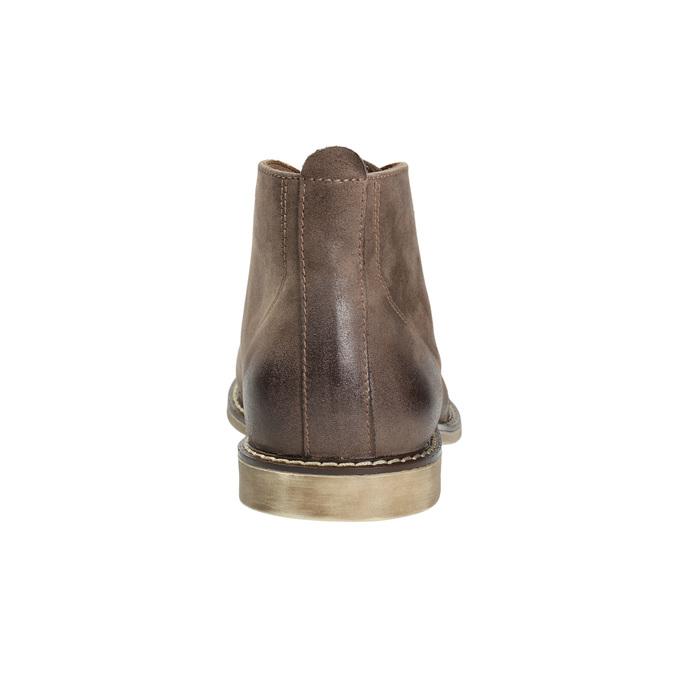 Knöchelschuhe aus Leder bata, Braun, 826-4600 - 17