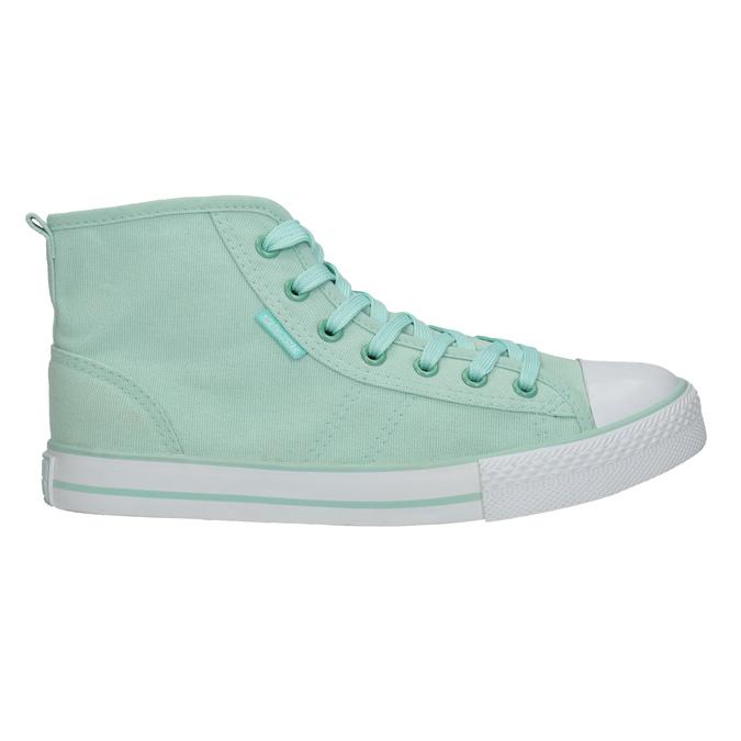 Knöchelhohe Sneakers in Minttürkis north-star, türkis, 589-7442 - 15