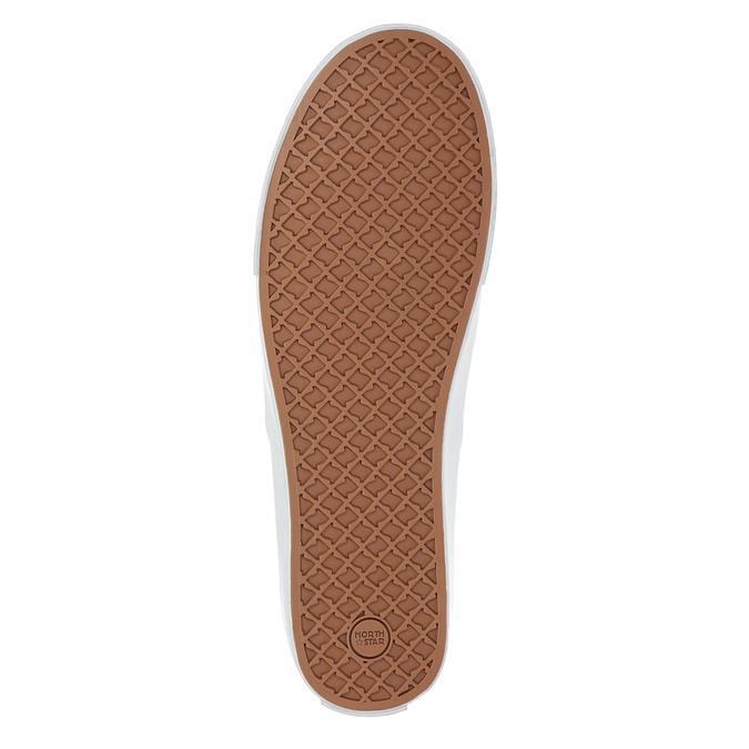 Blaue Schuhe im Stil der Slip-Ons north-star, Blau, 889-9286 - 26