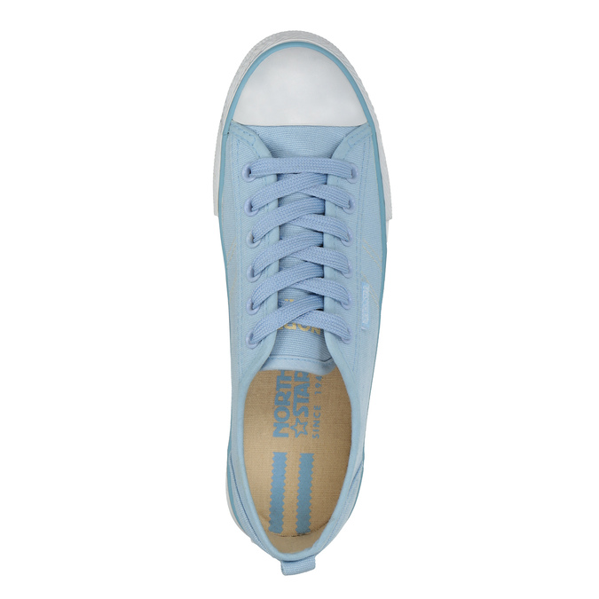 Blaue Damen-Sneakers north-star, Blau, 589-9443 - 19