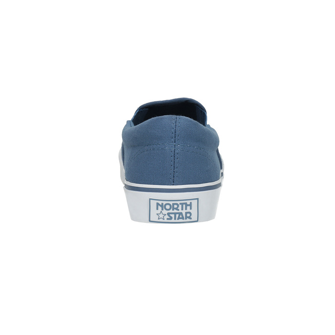 Blaue Schuhe im Stil der Slip-Ons north-star, Blau, 889-9286 - 17