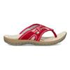 Damen-Flipflops mit markanter Sohle weinbrenner, Rot, 566-5611 - 19