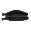 Kleinere schwarze Handtasche mit Klappe bata, Schwarz, 961-6731 - 15