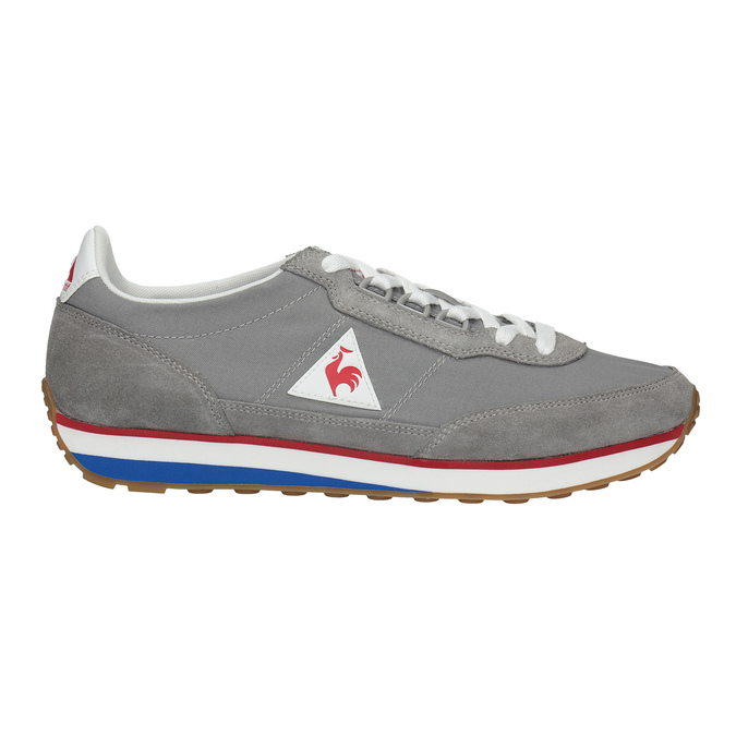 Graue Herren-Sneakers mit markanter Sohle le-coq-sportif, Grau, 809-2272 - 15