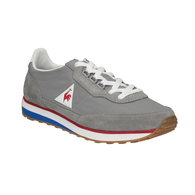 Graue Herren-Sneakers mit markanter Sohle le-coq-sportif, Grau, 809-2272 - 13
