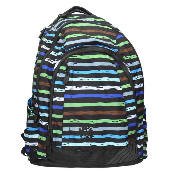 Schulrucksack mit Streifen bagmaster, Blau, 969-9651 - 26