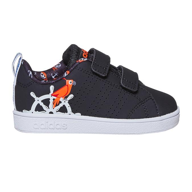 Kinder-Sneakers mit Print adidas, Schwarz, 101-6133 - 15