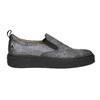 Damen-Slip-Ons mit schwarzer Flatform bata, Grau, 516-1613 - 15