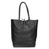 Lederhandtasche im Shopper-Stil bata, Schwarz, 964-6122 - 26