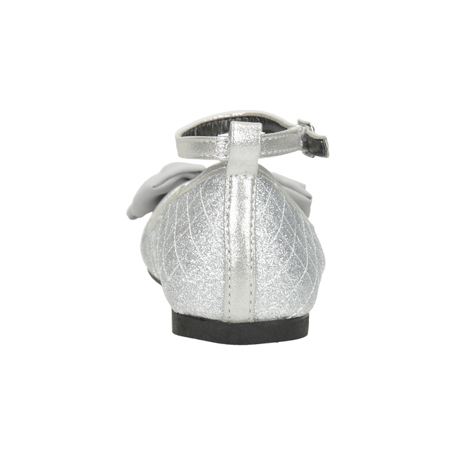 Silberne Mädchen-Ballerinas mini-b, Silber , 329-1286 - 16