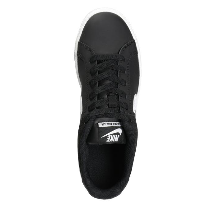 Schwarze Damen-Sneakers nike, Schwarz, 501-6164 - 15