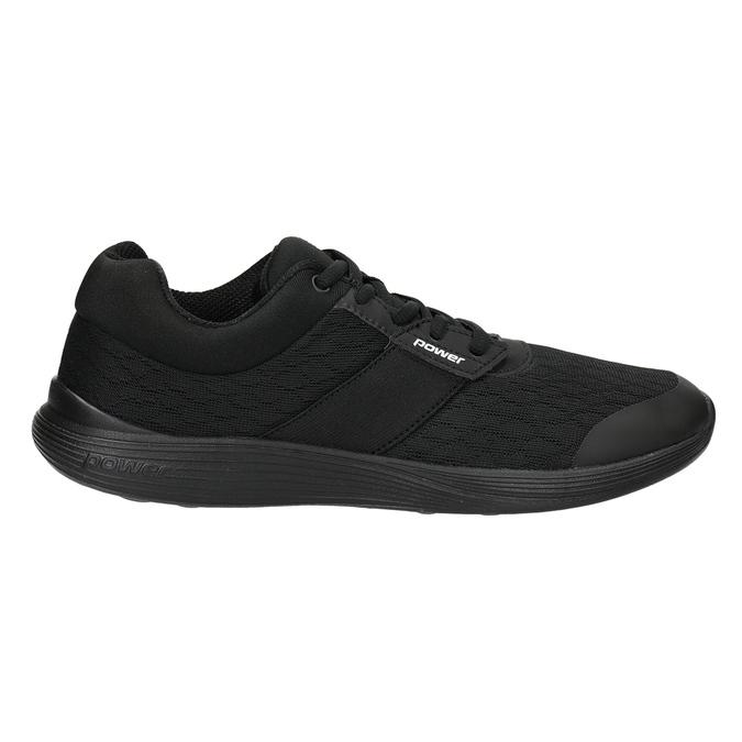 Schwarze Damen-Sneakers power, Schwarz, 509-6203 - 26